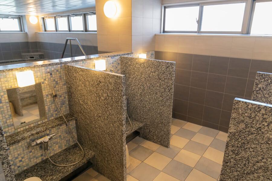 ここが自慢の大浴場