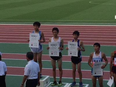 陸上競技部 全日本中学校通信陸上競技神奈川県大会に出場しました