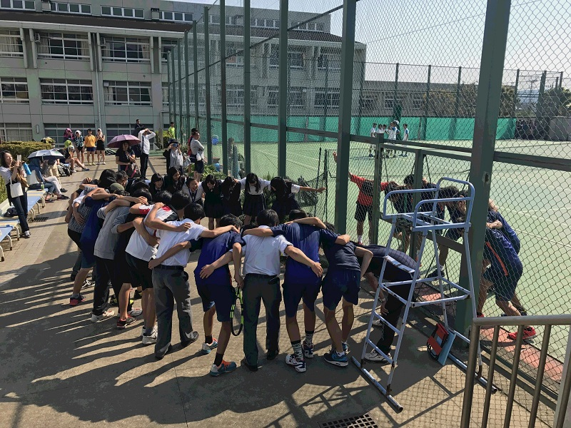 高校男子テニス部 県ベスト8