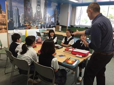校長のつぶやき(3)~一年生の英語の授業を探訪~