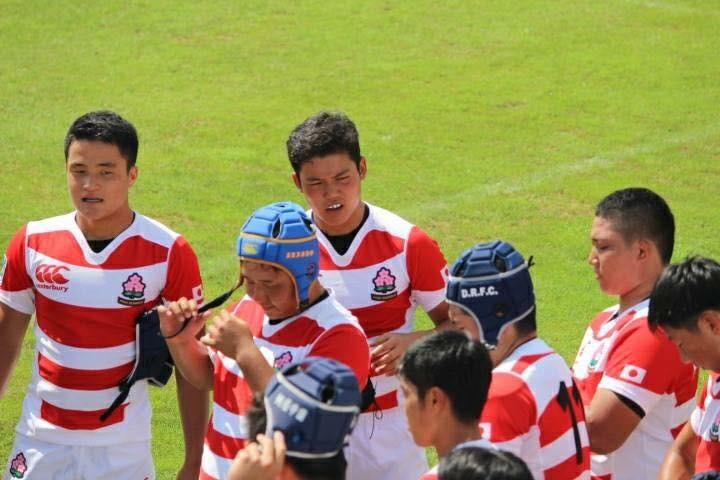 高校ラグビー部 U17日本代表で活躍