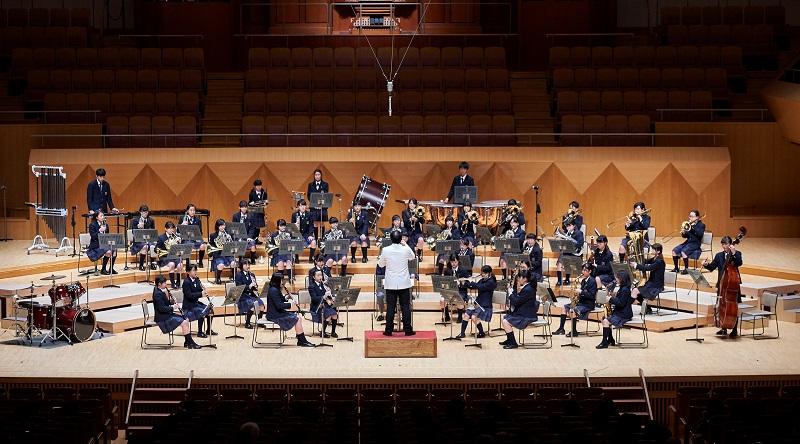 吹奏楽部 2018年度六浦祭での公演