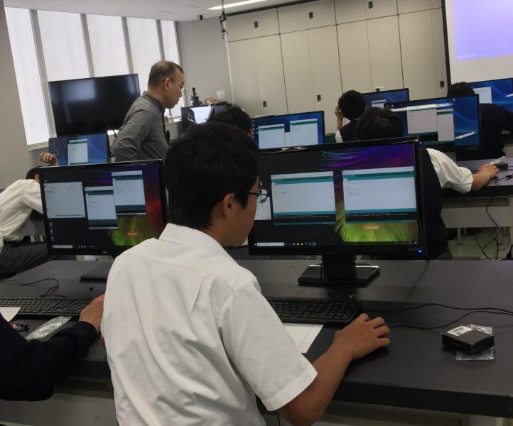 3年生「大学への理科実験入門」~プログラミング~