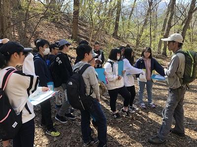 2年生軽井沢自然教室の様子