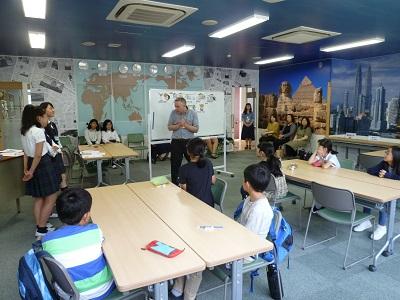 KGM Kids English(小学生向け英会話教室)がスタートしました