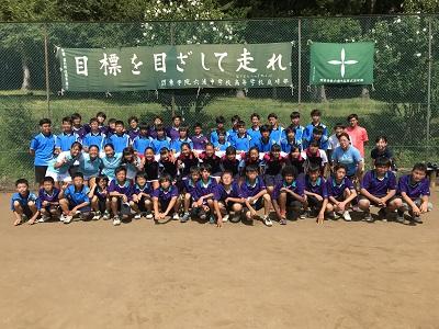 硬式テニス部 夏合宿を行いました