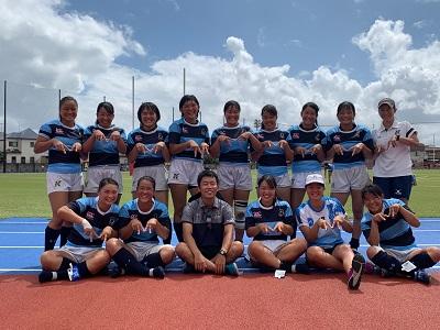 女子ラグビー部 全国U18女子セブンズラグビーフットボール大会出場決定