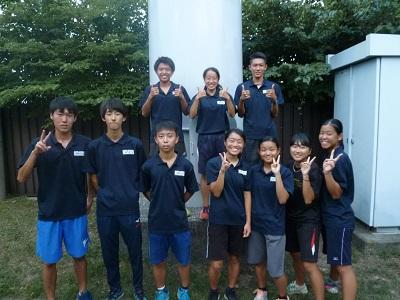 陸上競技部 県高校新人陸上競技大会へ出場します