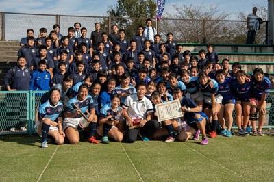 高校女子ラグビー部 全国U18女子セブンズラグビーフットボール大会準優勝