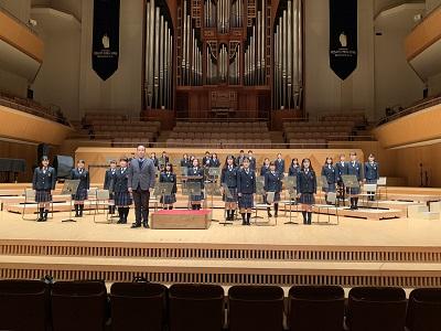 吹奏楽部 第35回関東学院クリスマスコンサートに出演しました