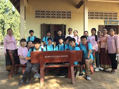 カンボジア サービス・ラーニング研修へ行っています