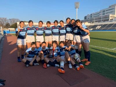 【メディア掲載】女子ラグビー部 横浜市女子セブンズ大会優勝
