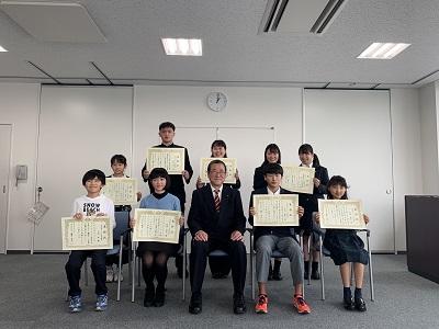 女子ラグビー部 金沢区いきいき区民表彰を受けました
