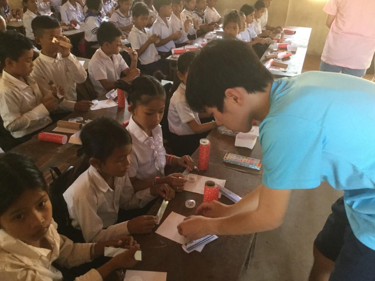 カンボジア サービス・ラーニング研修