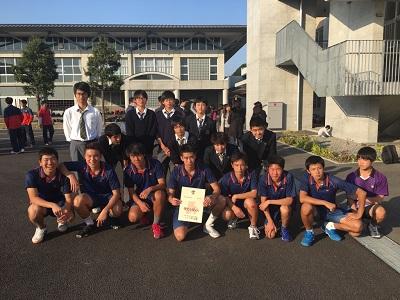 高校男子テニス部 団体県ベスト4!