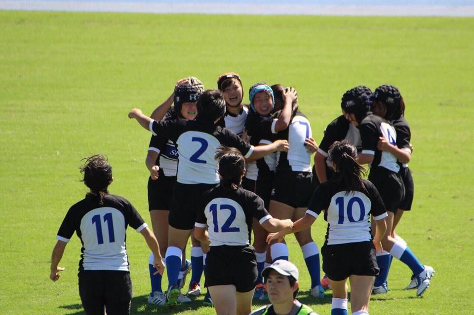 女子ラグビー部 全国中学生ラグビーフットボール大会で優勝しました