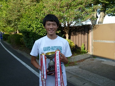陸上競技部 横浜市中学校総合体育大会で優勝しました